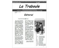 Première page La Traboule 2013