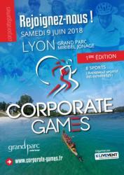 Les Corporate Games de Lyon