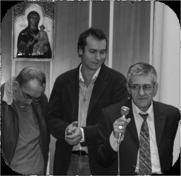 Jean-Pierre, Vianney et Yves