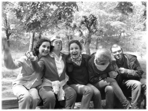 Elodia, Blandine, Anne, Ségolène et Norbert